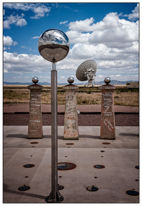 Sundial at the Very Large Array