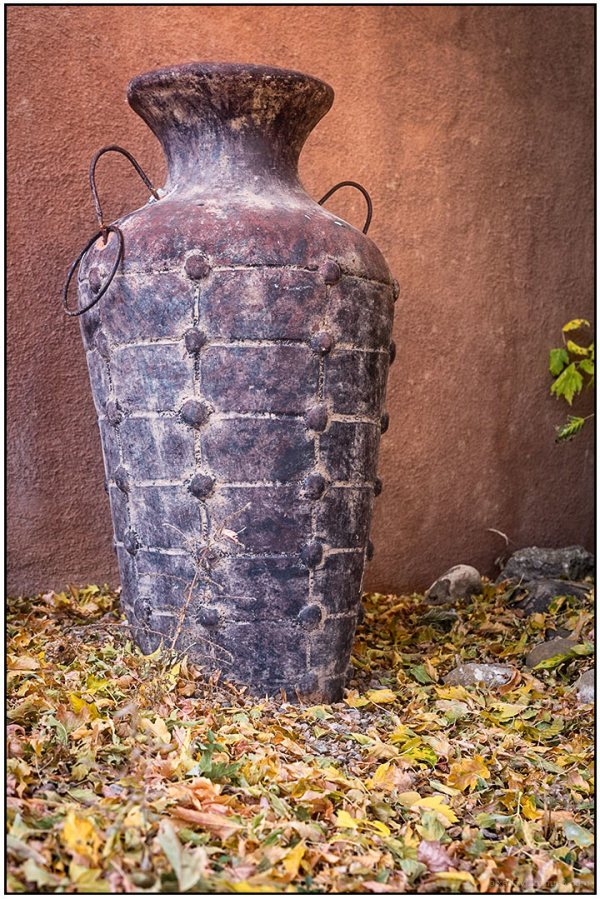 Ceramics:  Tall Pot