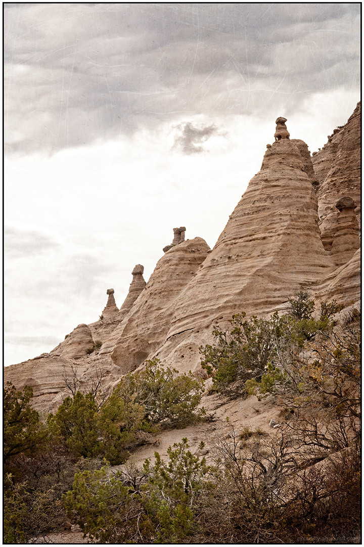 Local Landscapes:  Hoodoos at Tent Rocks