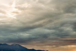 Taos Mountain Sunrise