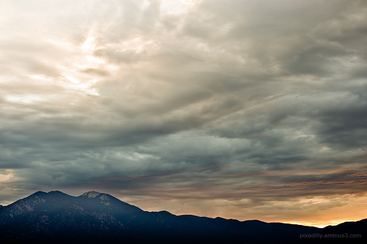 Taos Mountain Sunrise