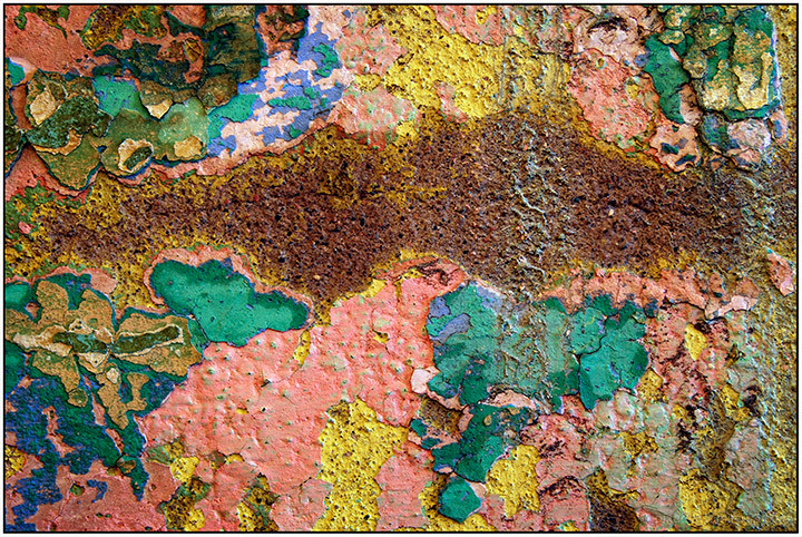 Crazy Color:  Wall Study # 5