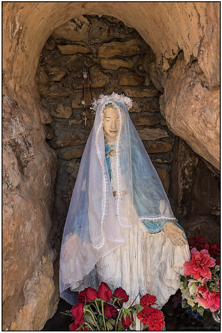 Mary in a Grotto