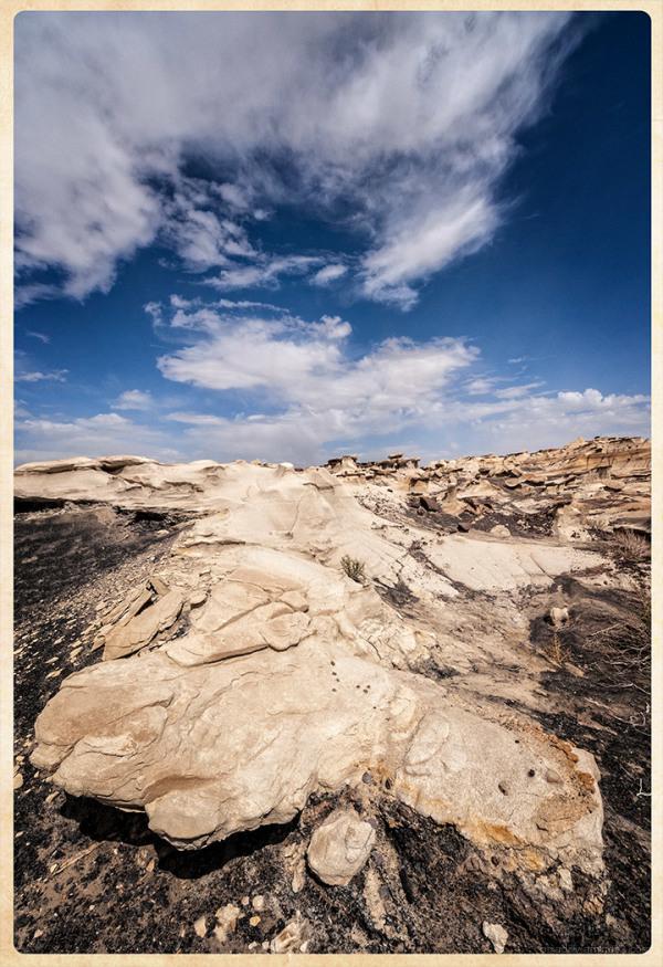 Bisti:  Land and Sky