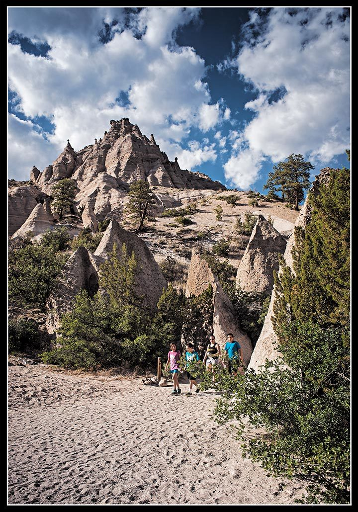 A Family Visits Tent Rocks