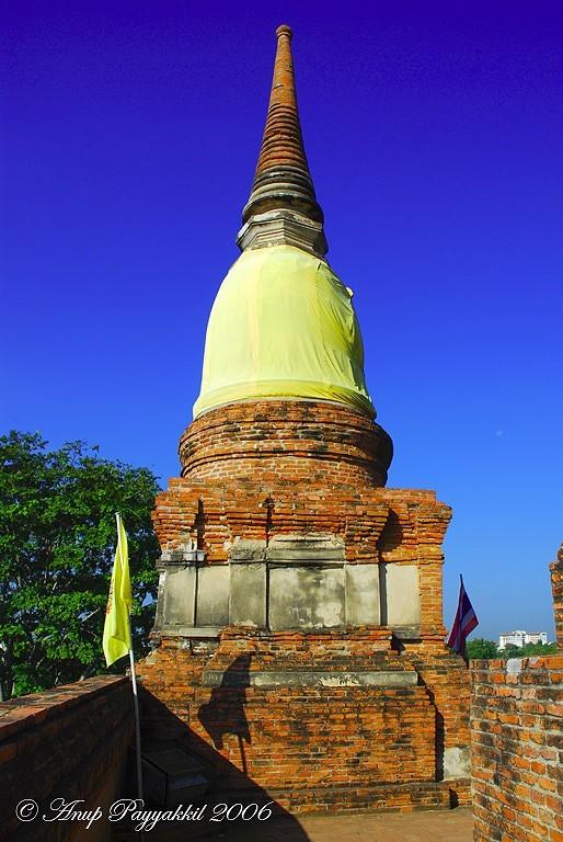 Wat Yai Chaimonkorn, Ayutthaya, Thailand