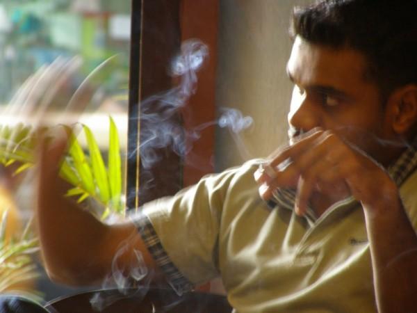 Moving in smoke