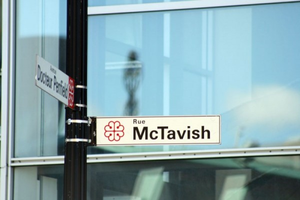 Corner of McTavish & Dr. Penfield