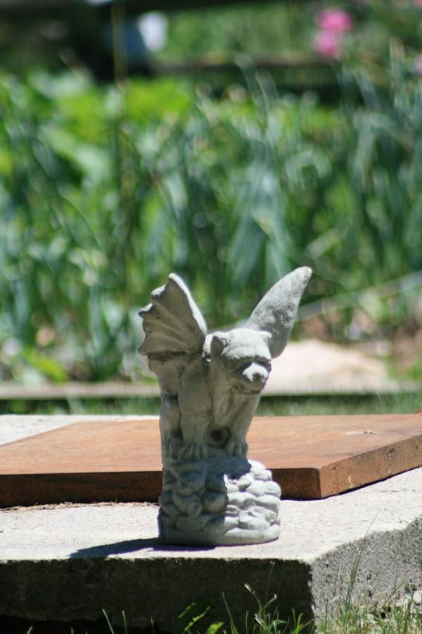 Garden gargoyle