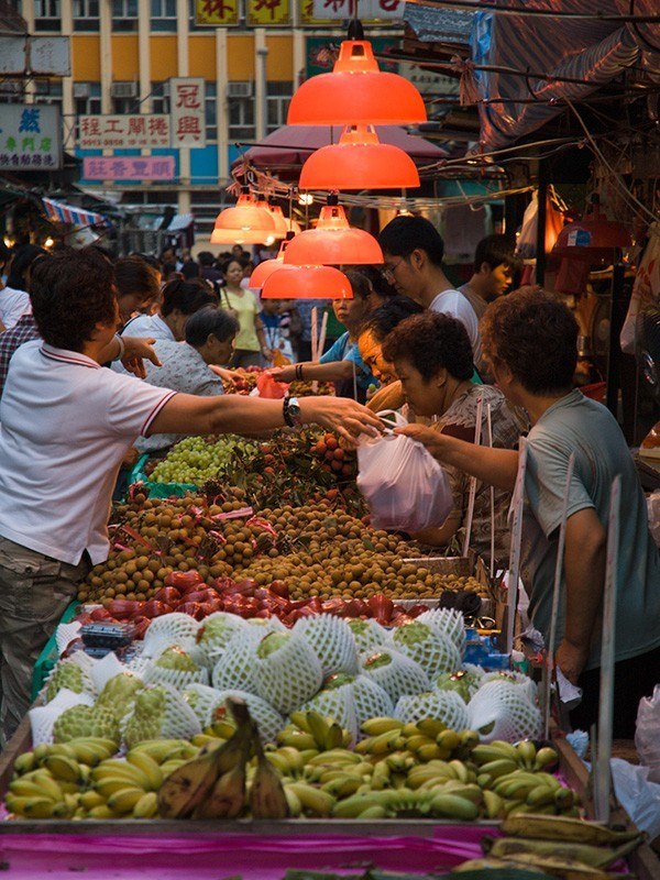 Hong-Kong market