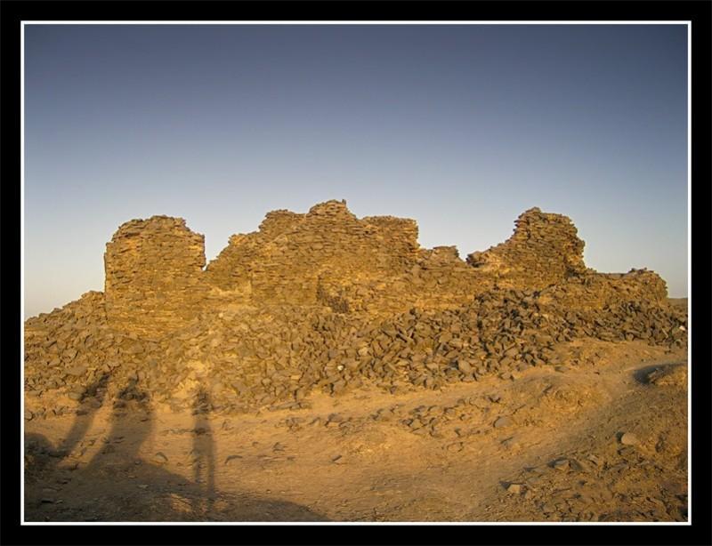 English mountain ruins