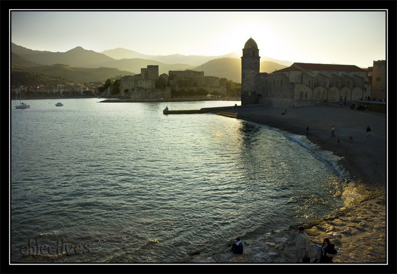 Collioure backlit