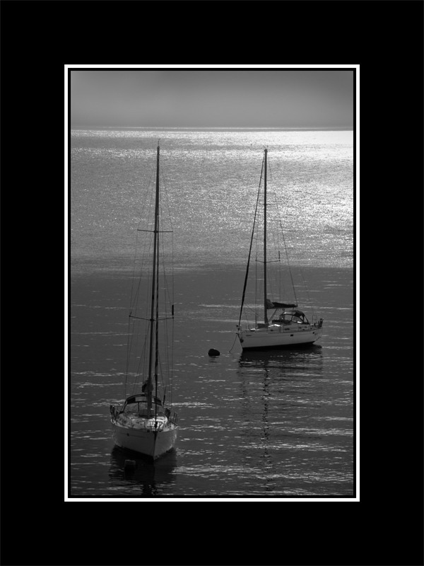 la mar calmada