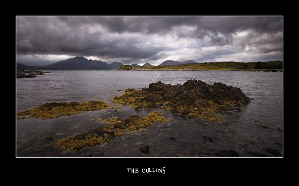 Scotland, cullins hills, sea,