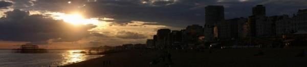 Brighton's sunset