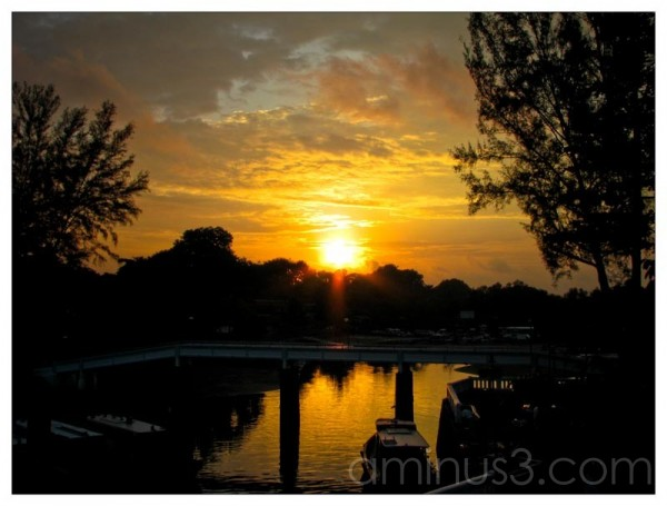 Life – Sunrise Over The Waters At Changi Village