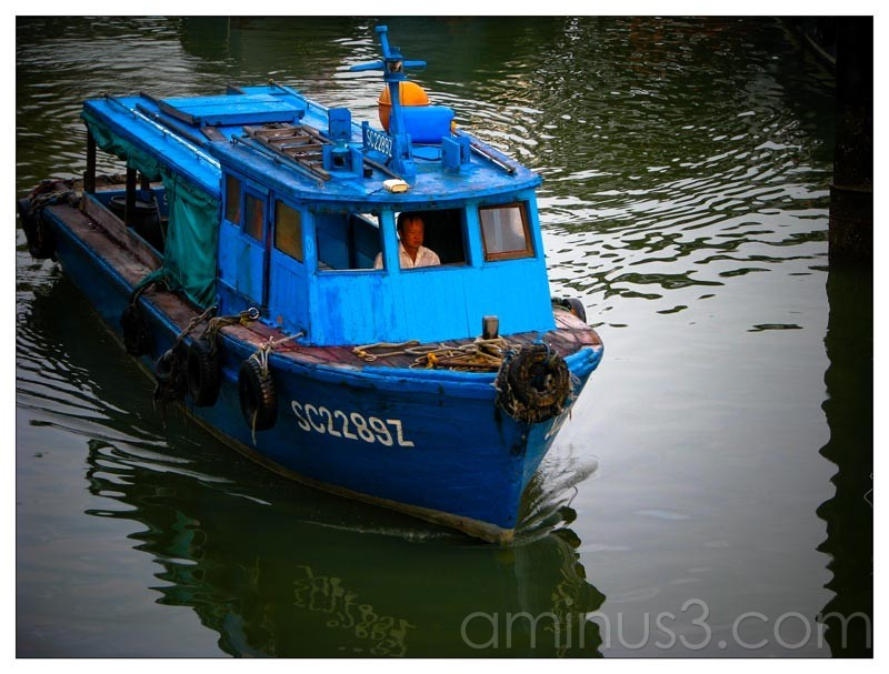 Life – Blue Boat On Non-blue Water