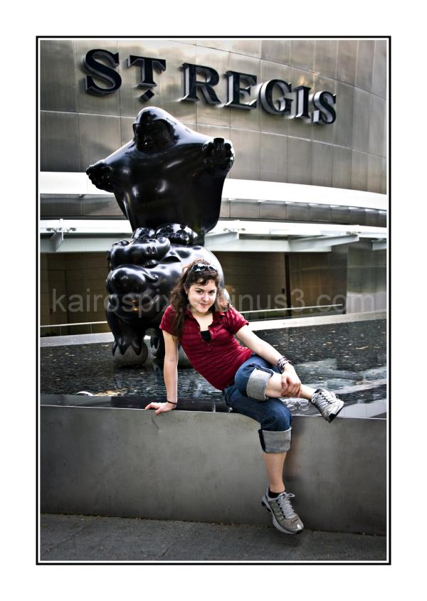At St Regis Singapore...
