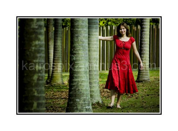 Posing amongst the trees #1...