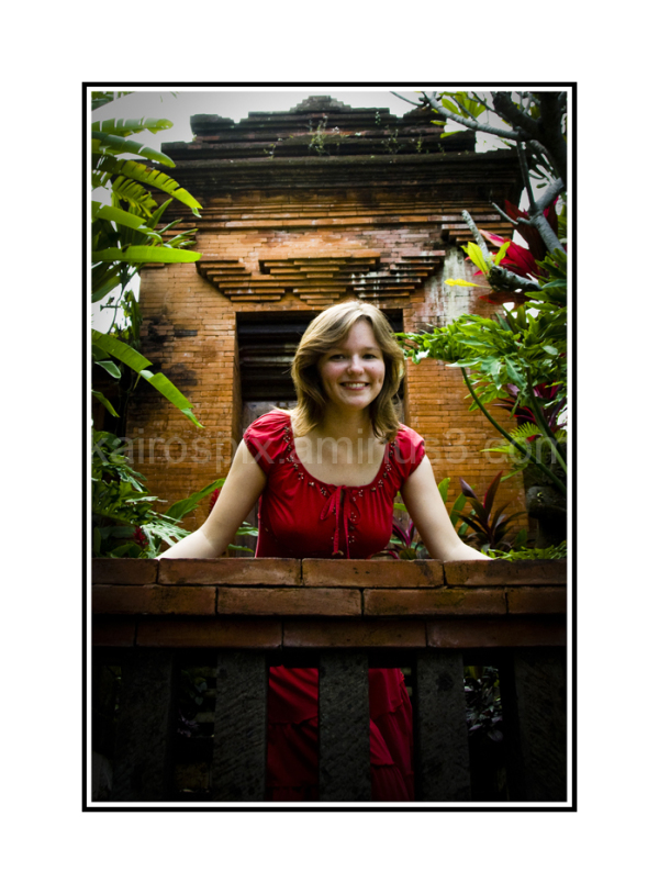 Gillman Village - Posing at Little Bali #34...
