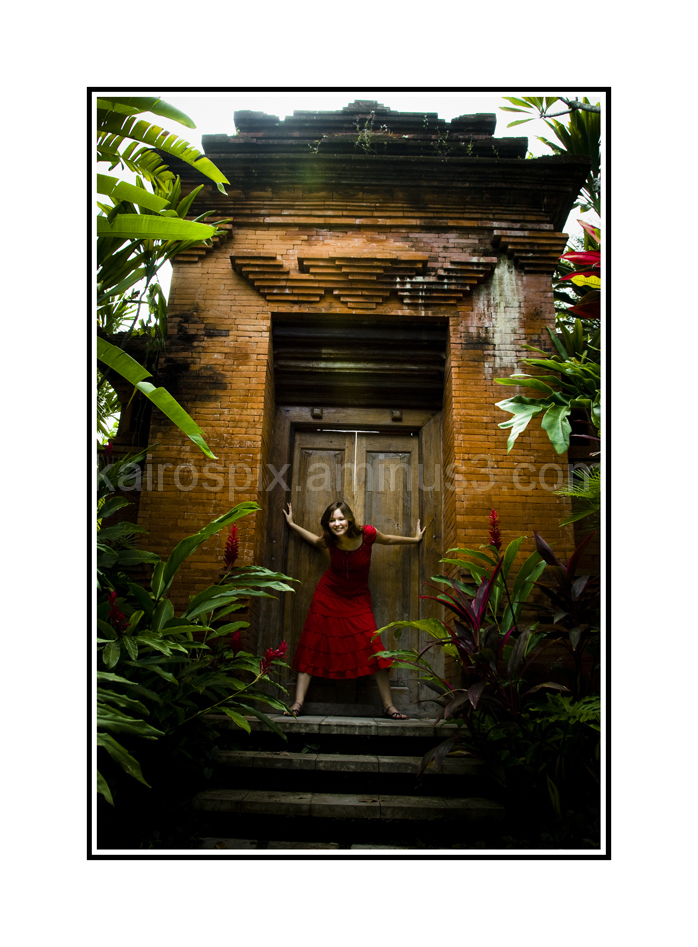 Gillman Village - Posing at Little Bali #42...
