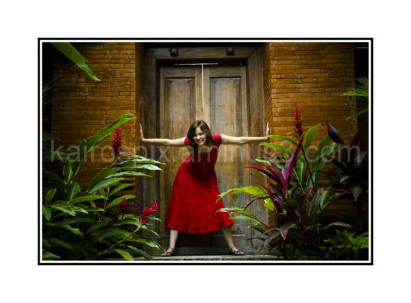 Gillman Village - Posing at Little Bali #45...