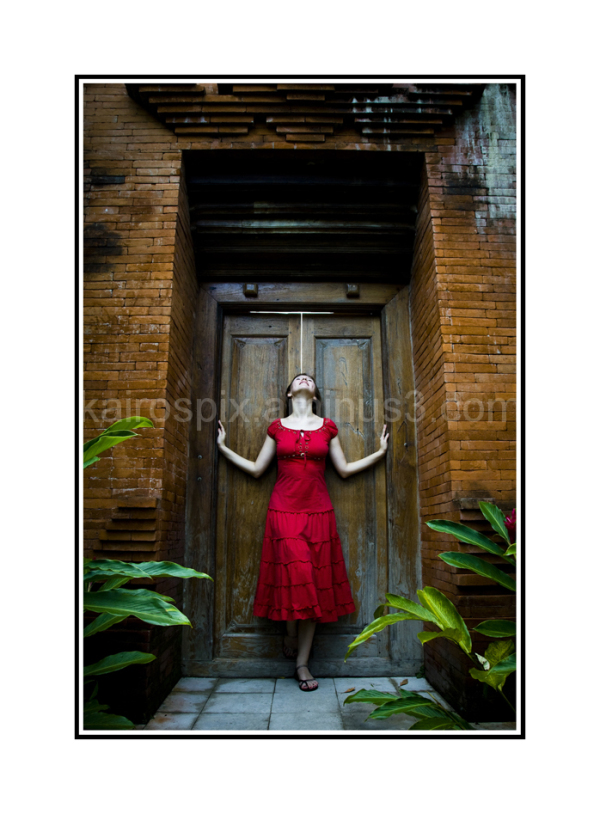 Gillman Village - Posing at Little Bali #55...