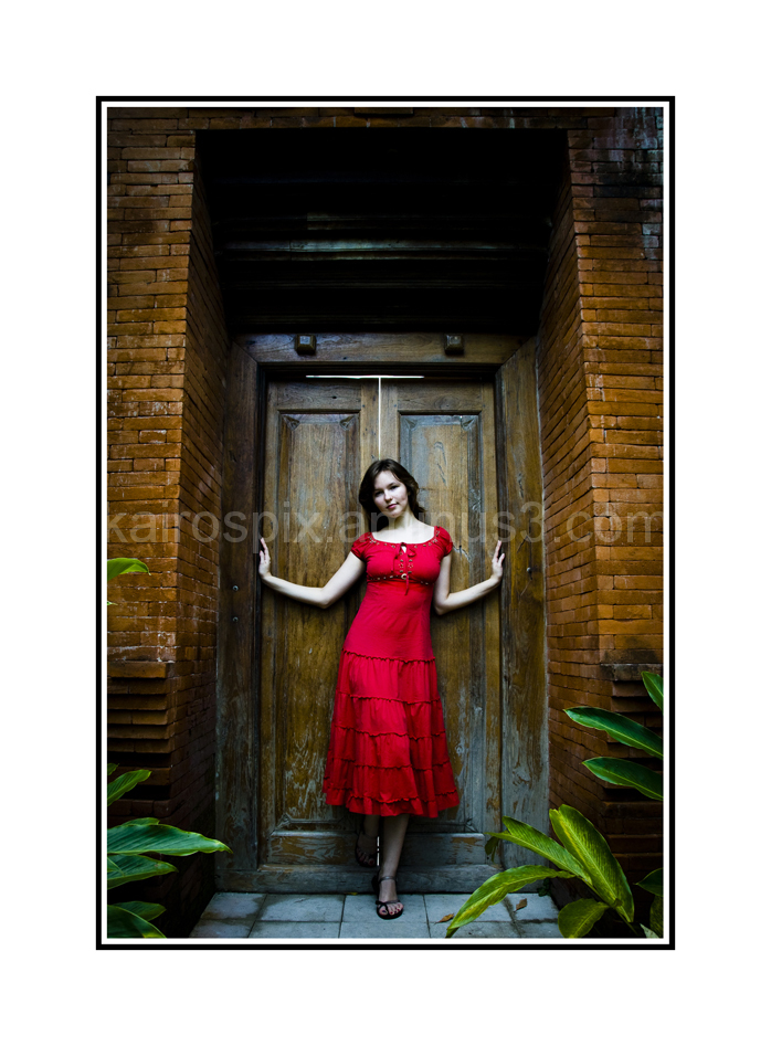 Gillman Village - Posing at Little Bali #56...