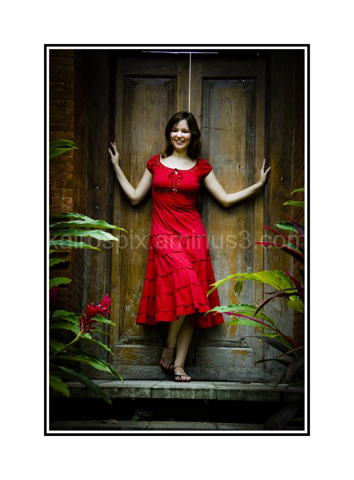 Gillman Village - Posing at Little Bali #58...