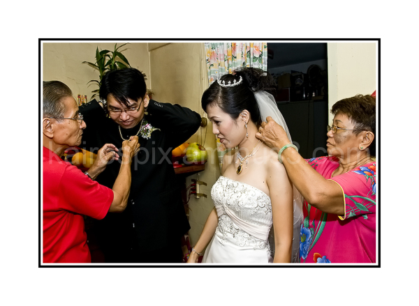 Bringing the bride to parents' home - #012