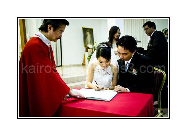 During the wedding - #011