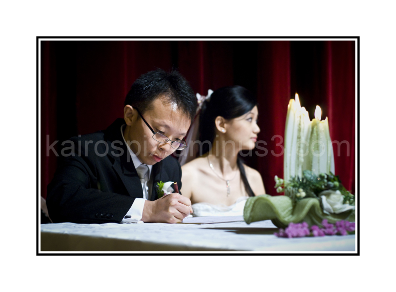 Wedding at the church - #015