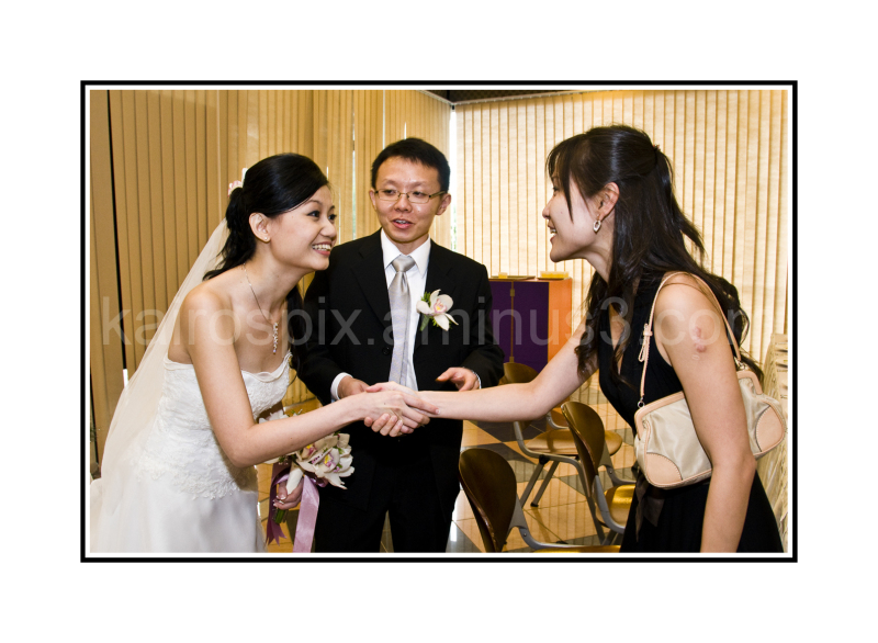 Wedding at the church - #018