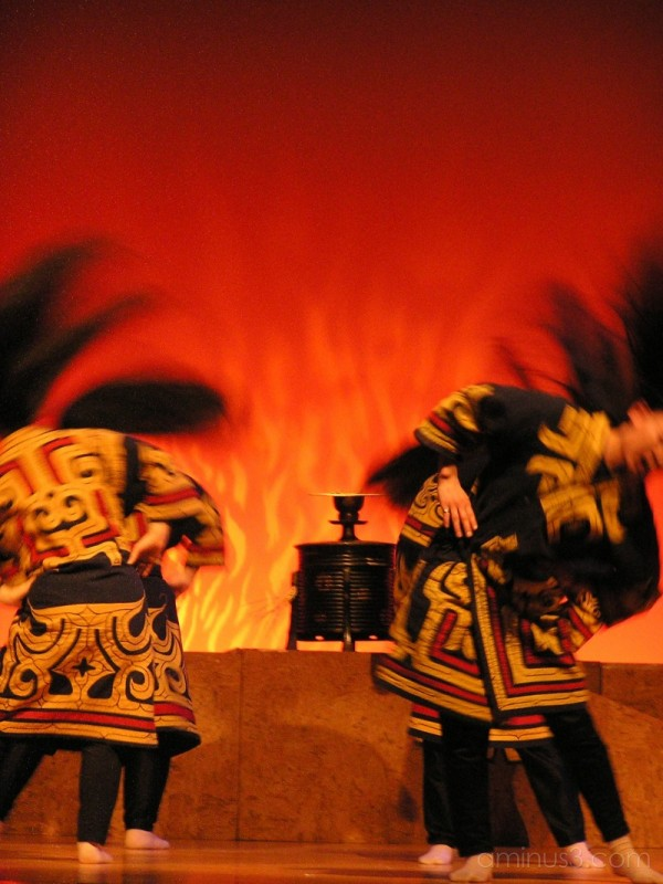 Ainu dance performance