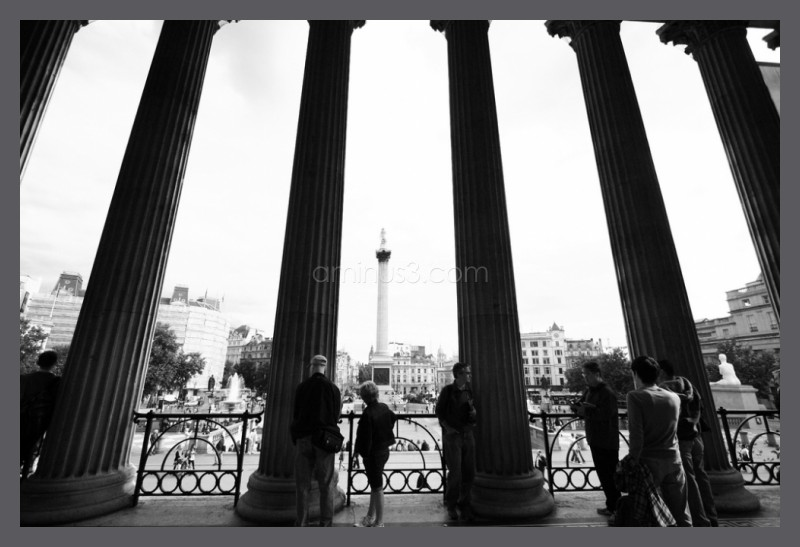 National Gallery and Trafalgar, London