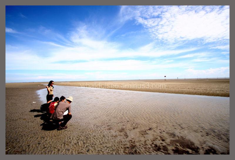 Bagan Lalang beach Malaysia