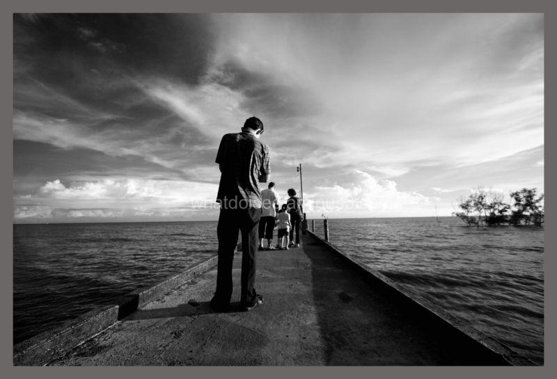 Tanjung Sepat Selangor jetty Malaysia