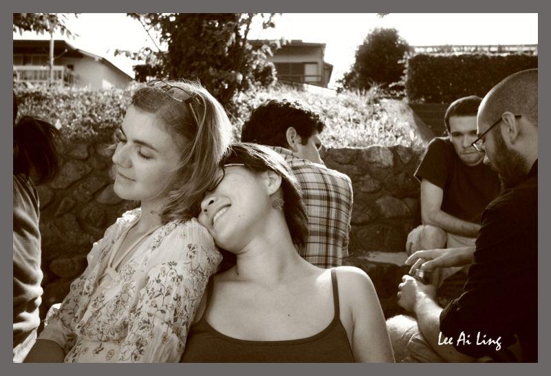 Friends portrait