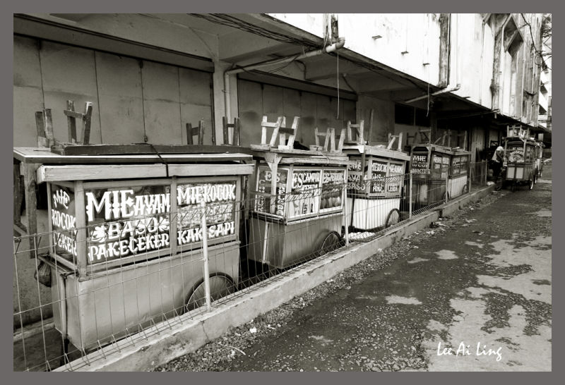 Bandung food stalls