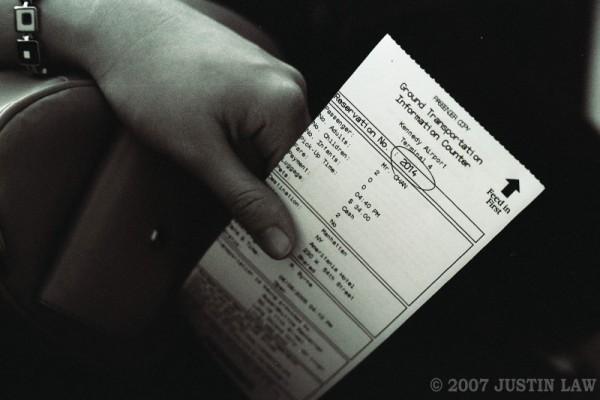 transport ticket to manhattan