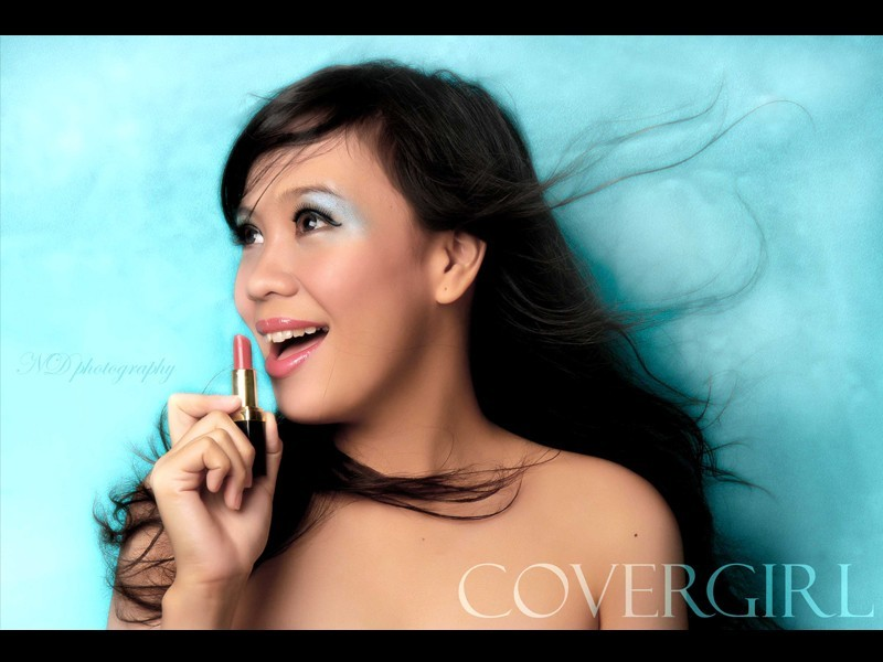 im a cover girl .. !!!