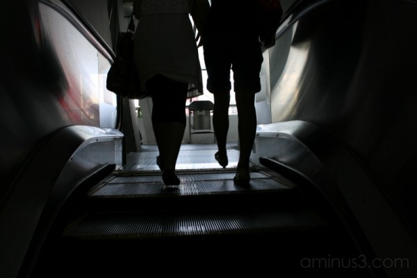 escalator, macao