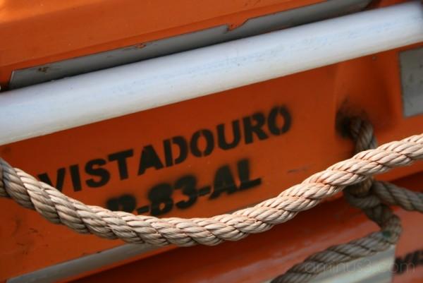 Boat in Douro river