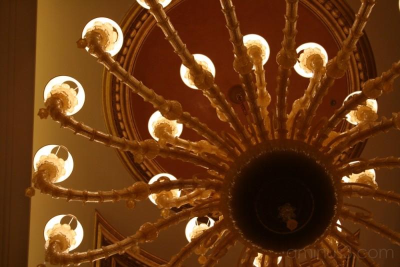 Casino Venetian - detail of the lamp