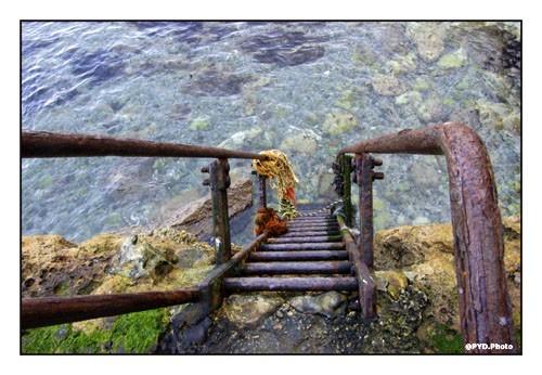 Sea stairwell