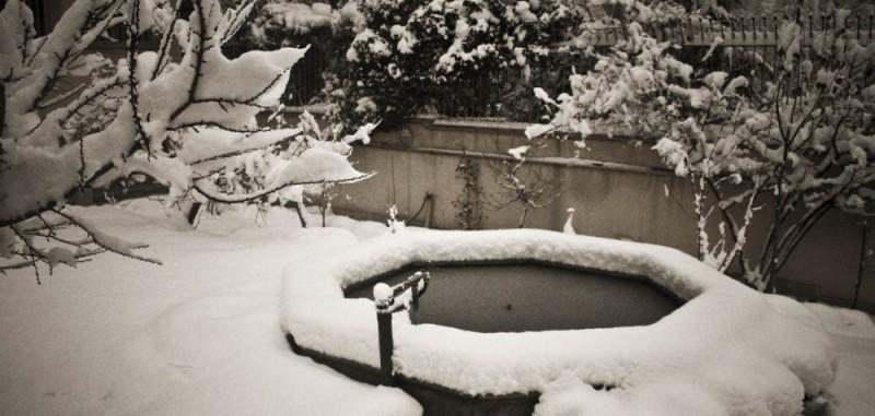 Maison au neige!