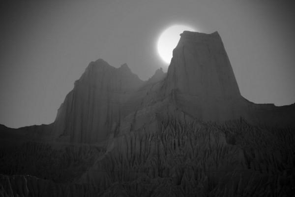 Les montagnes de Mars