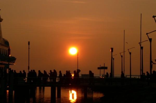 a sunset voyage