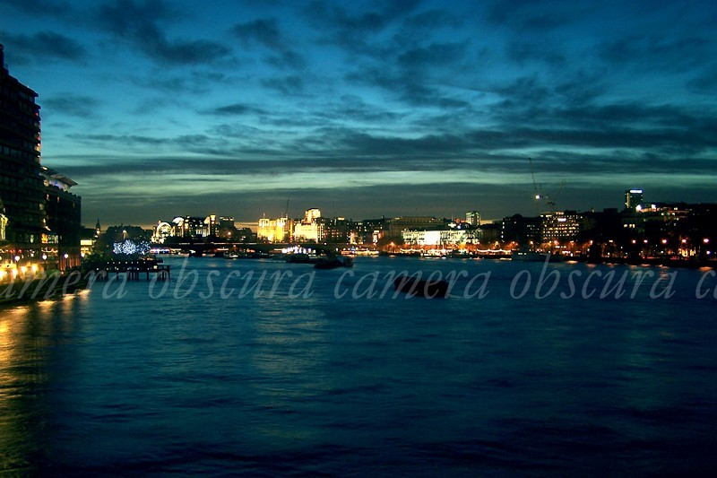 Thames, London, Night, Eve, Pranshu