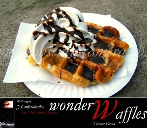 Wonder Waffle, London, Pranshu, Camera Obscura